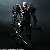 MGS 2 PLAY ARTS KAI SOLIDUS SNAKE AF