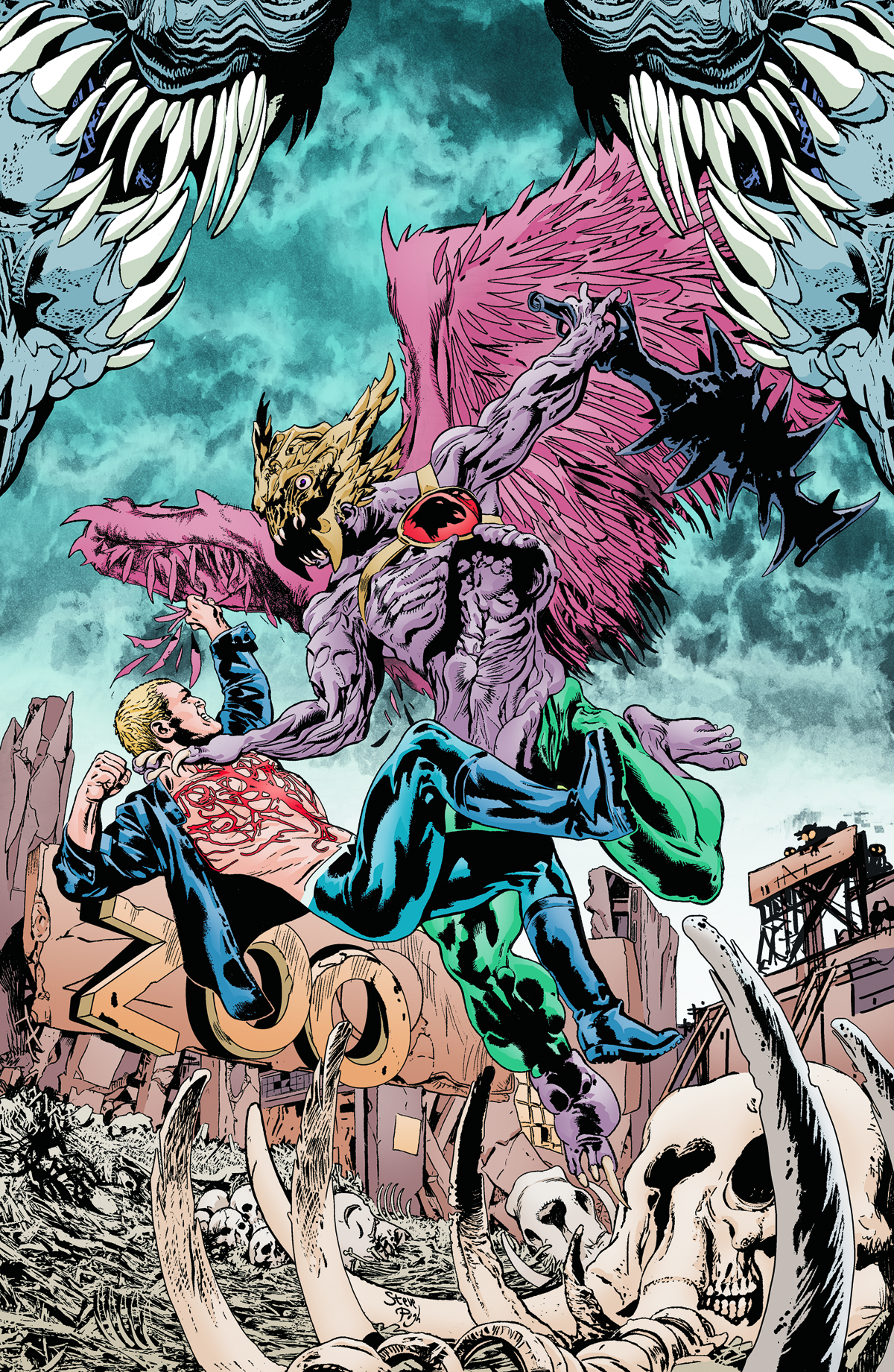ANIMAL MAN #13 (ROT)