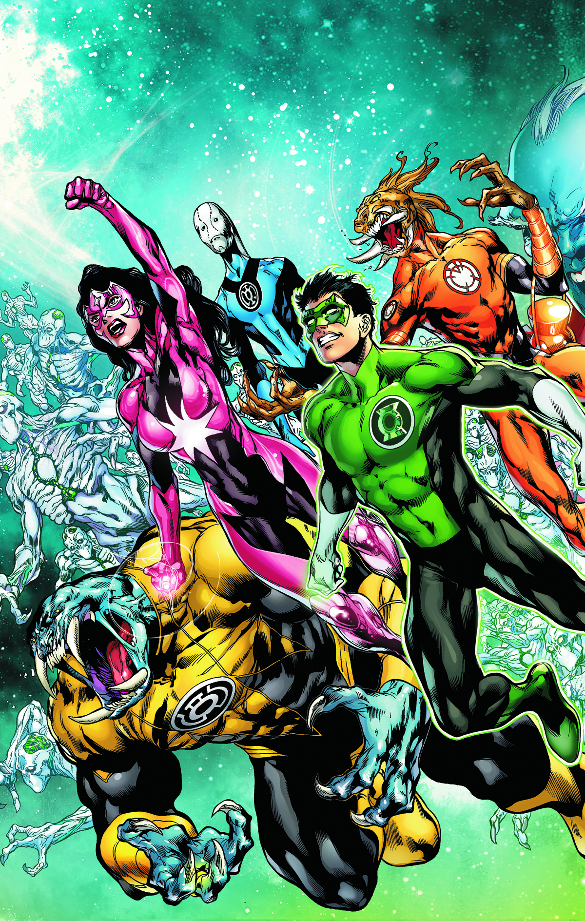 GREEN LANTERN NEW GUARDIANS #13 (RISE)