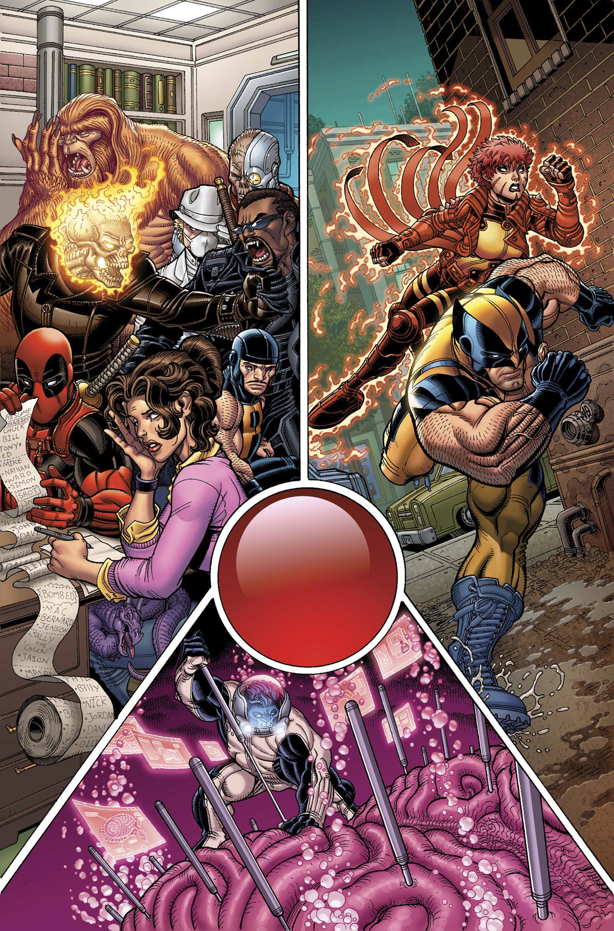 WOLVERINE AND X-MEN #18 AVX
