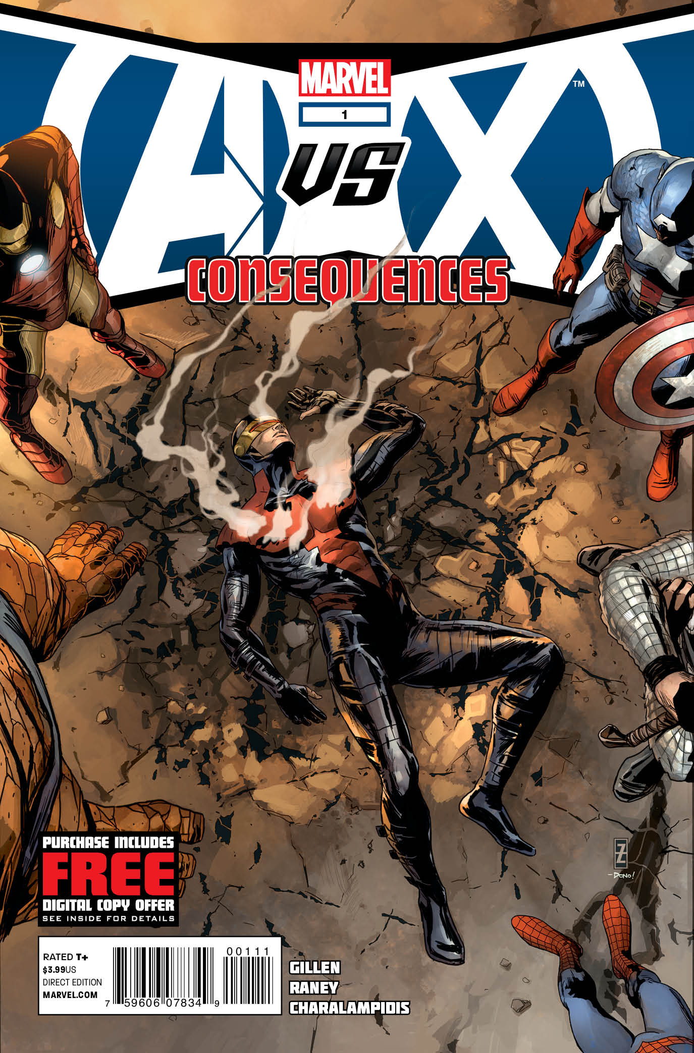 AVX CONSEQUENCES #1 (OF 5)