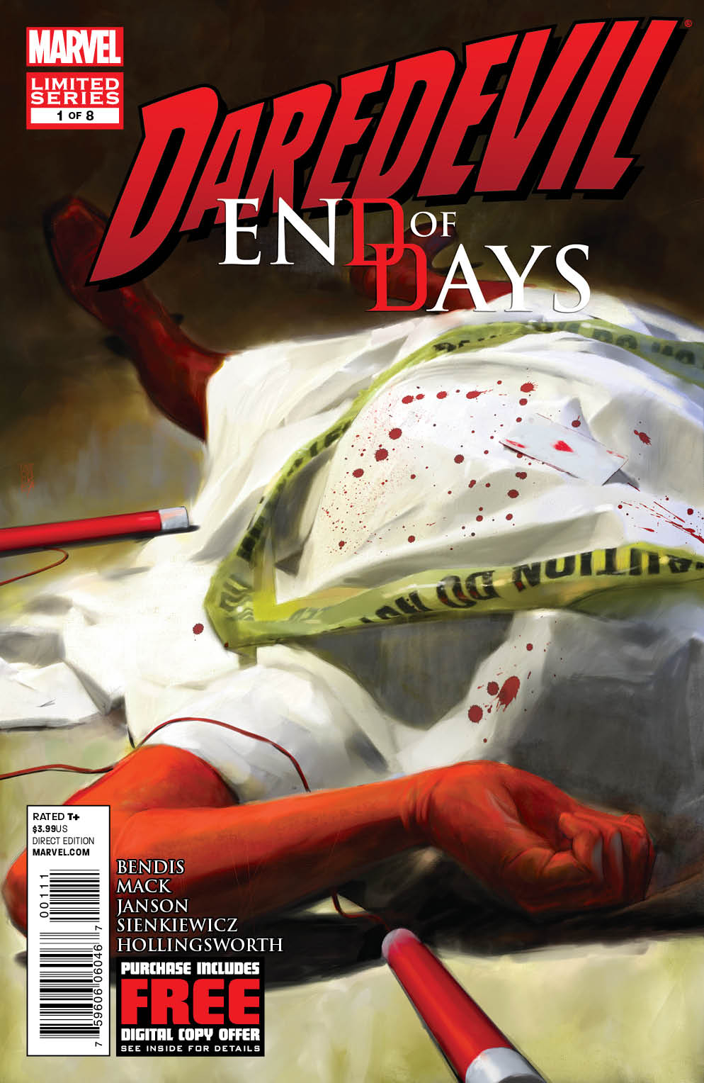 DAREDEVIL END OF DAYS #1