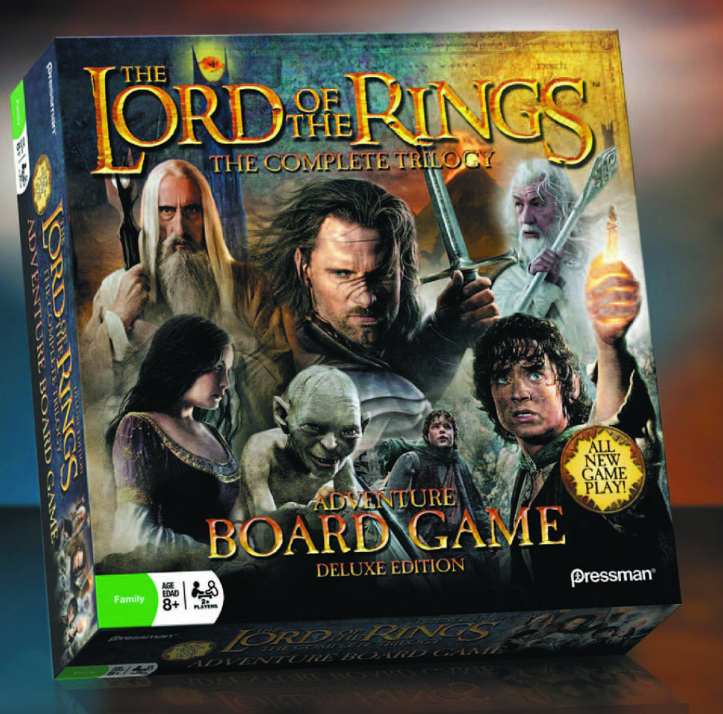 LORD OF THE RINGS TRILOGY ADVENTURE BOARD GAME