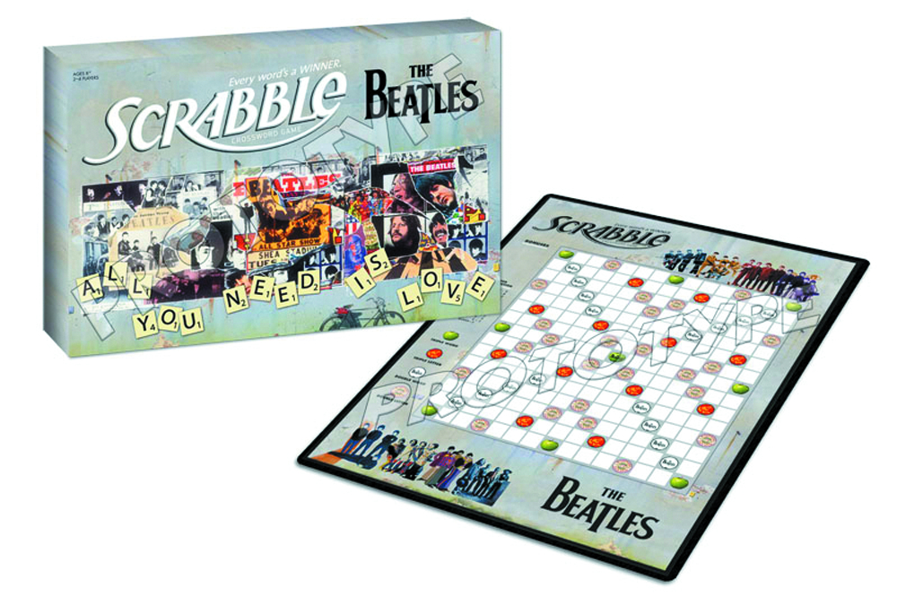BEATLES COLLECTORS EDITION SCRABBLE