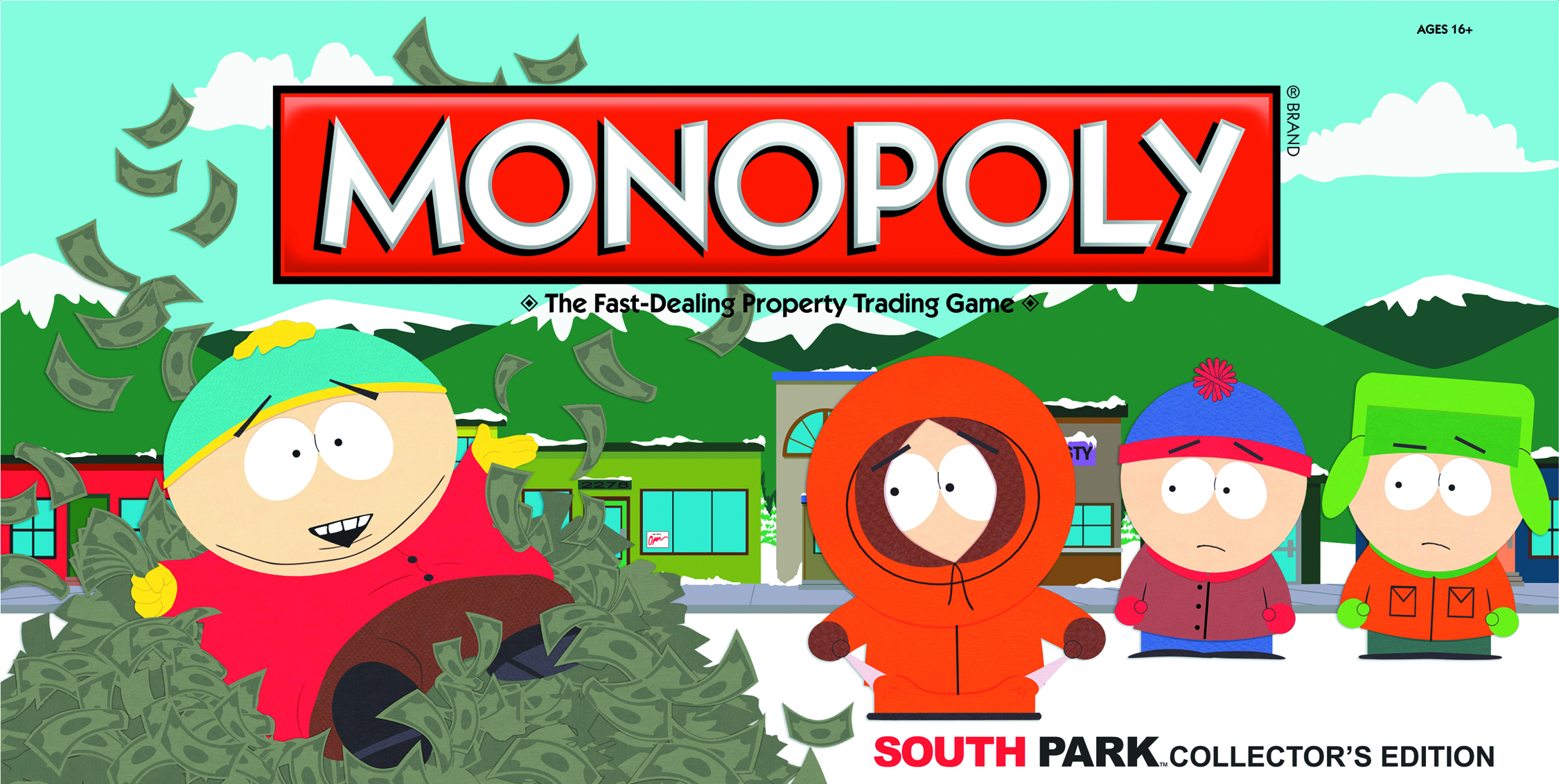 SOUTH PARK COLLECTORS ED MONOPOLY