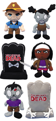 WALKING DEAD PLUSH 12PC ASST