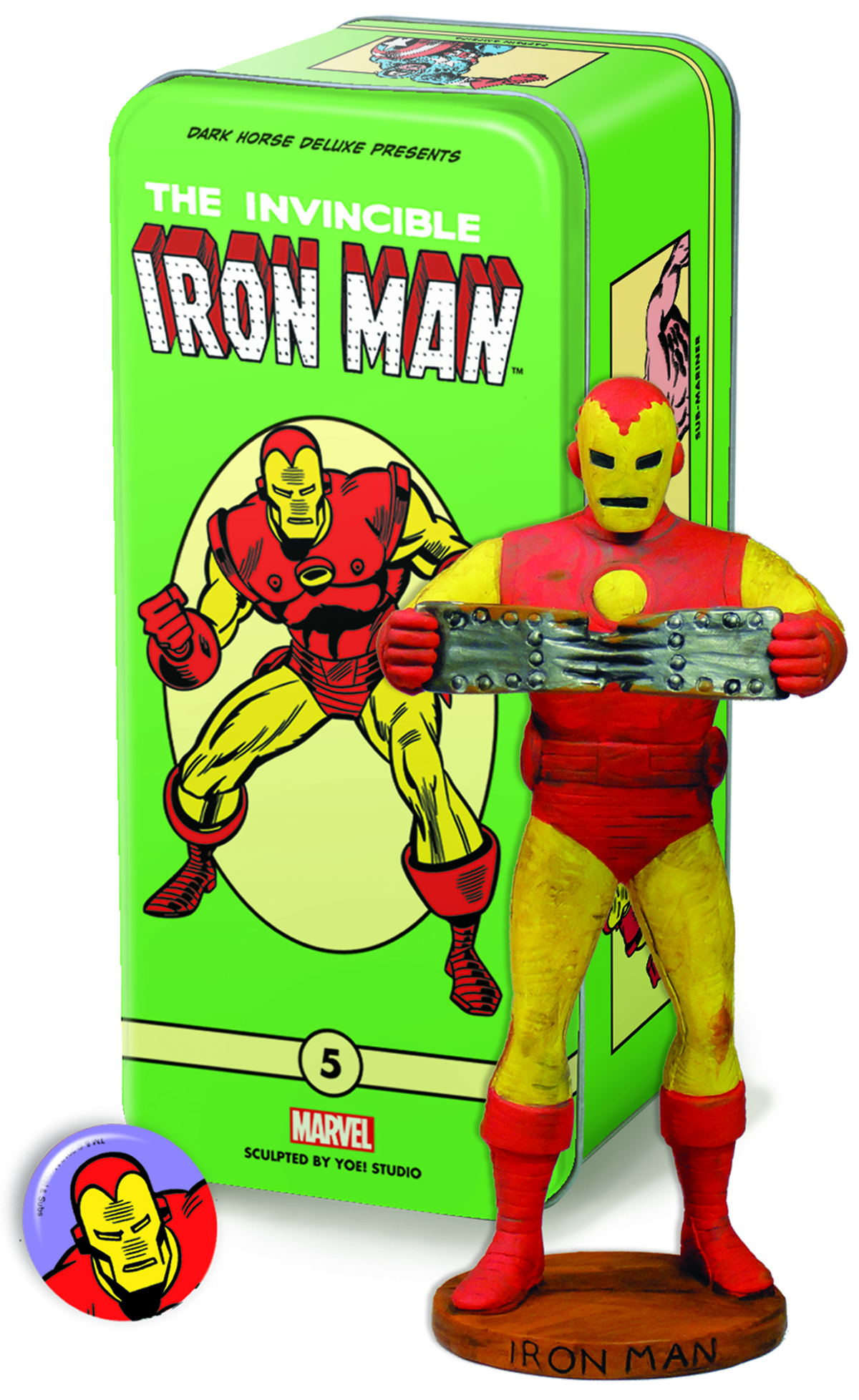CLASSIC MARVEL CHARACTERS SERIES 2 #5 IRON MAN