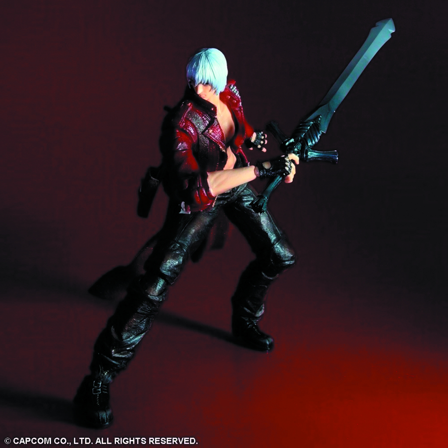 DEVIL MAY CRY 3 PLAY ARTS KAI DANTE AF