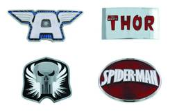 SPIDER-MAN LOGO BELT BUCKLE