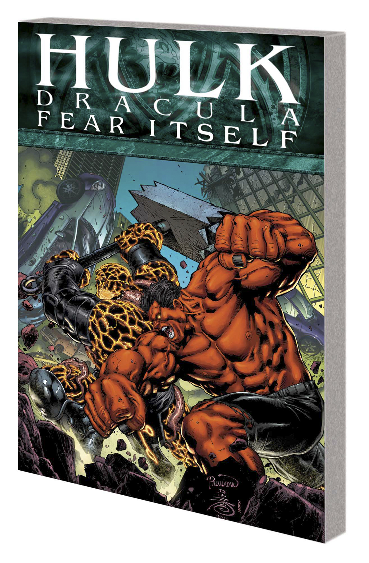 FEAR ITSELF TP HULK DRACULA