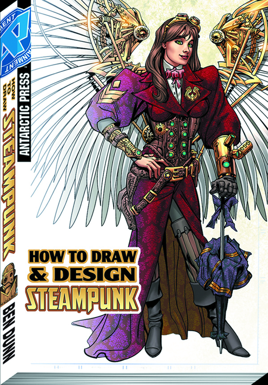 HOW TO DRAW STEAMPUNK PKT MANGA TP