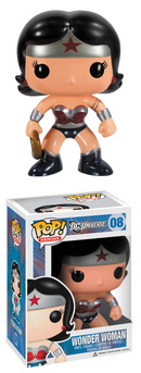 POP HEROES WONDER WOMAN PX VINYL FIG NEW 52 VER