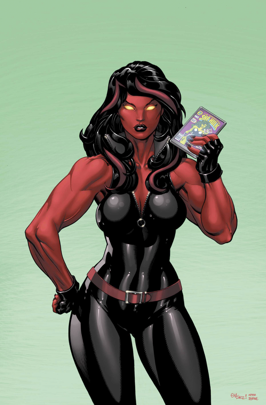 RED SHE-HULK #58 NOW