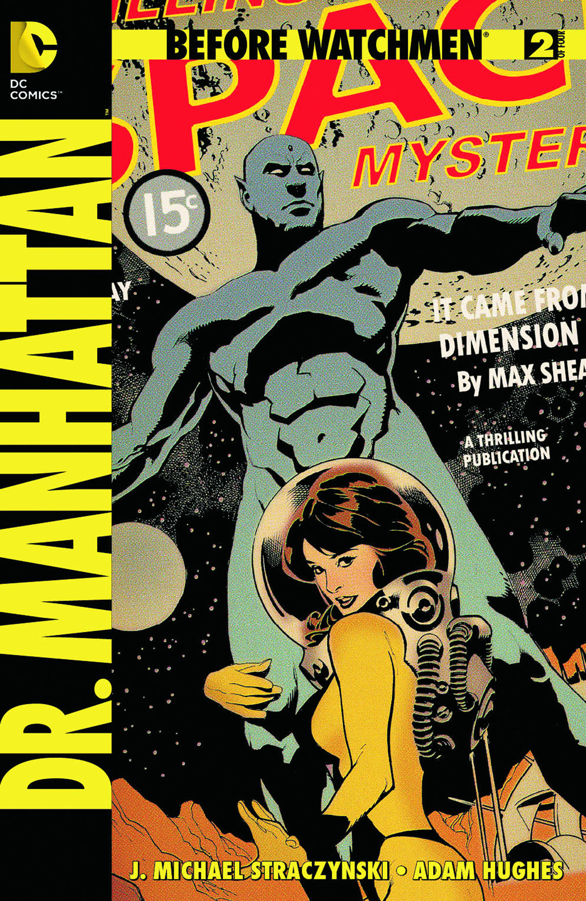 BEFORE WATCHMEN DR MANHATTAN #2 (OF 4) COMBO PACK
