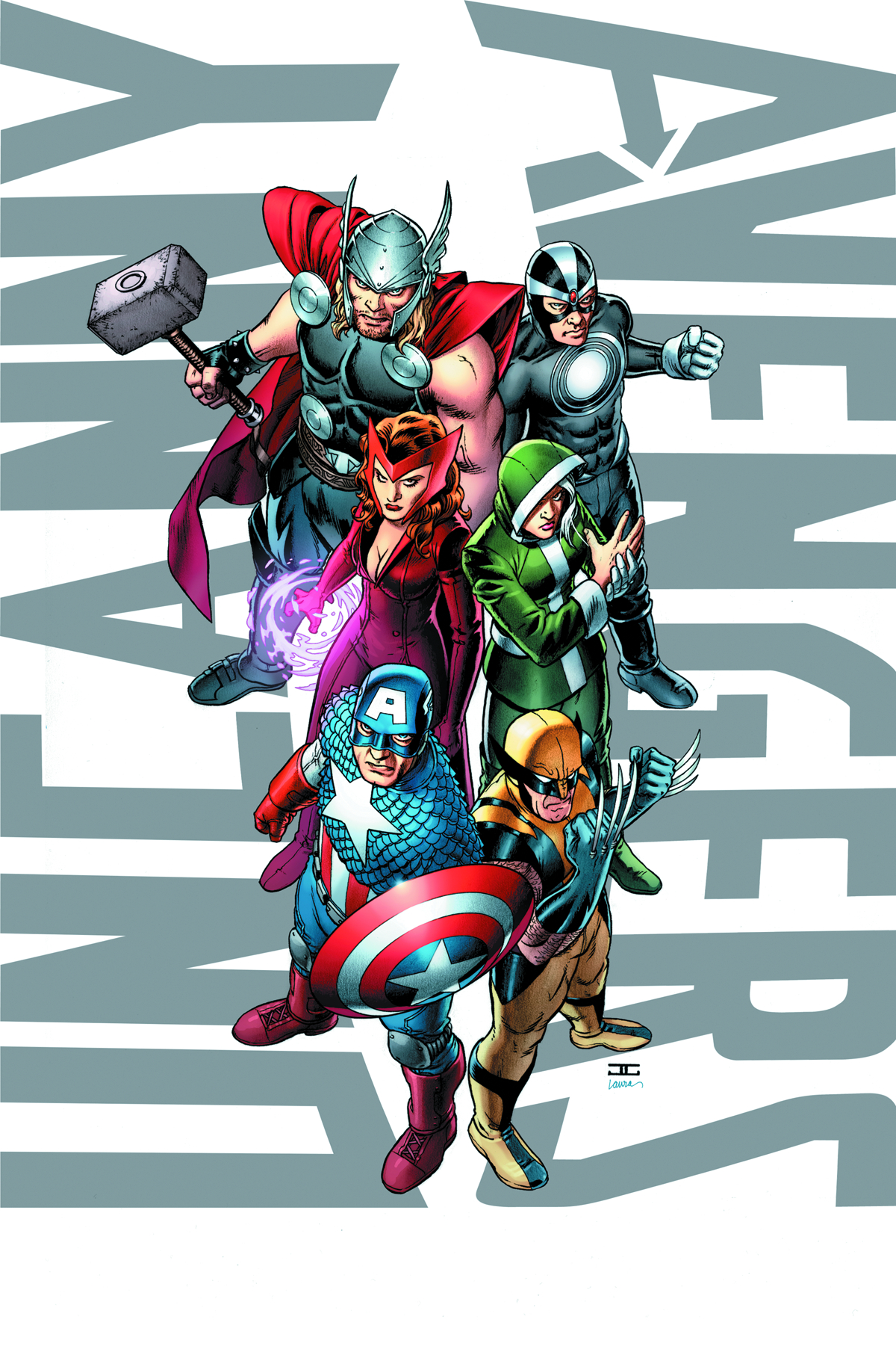 UNCANNY AVENGERS BY CASSADAY POSTER NOW