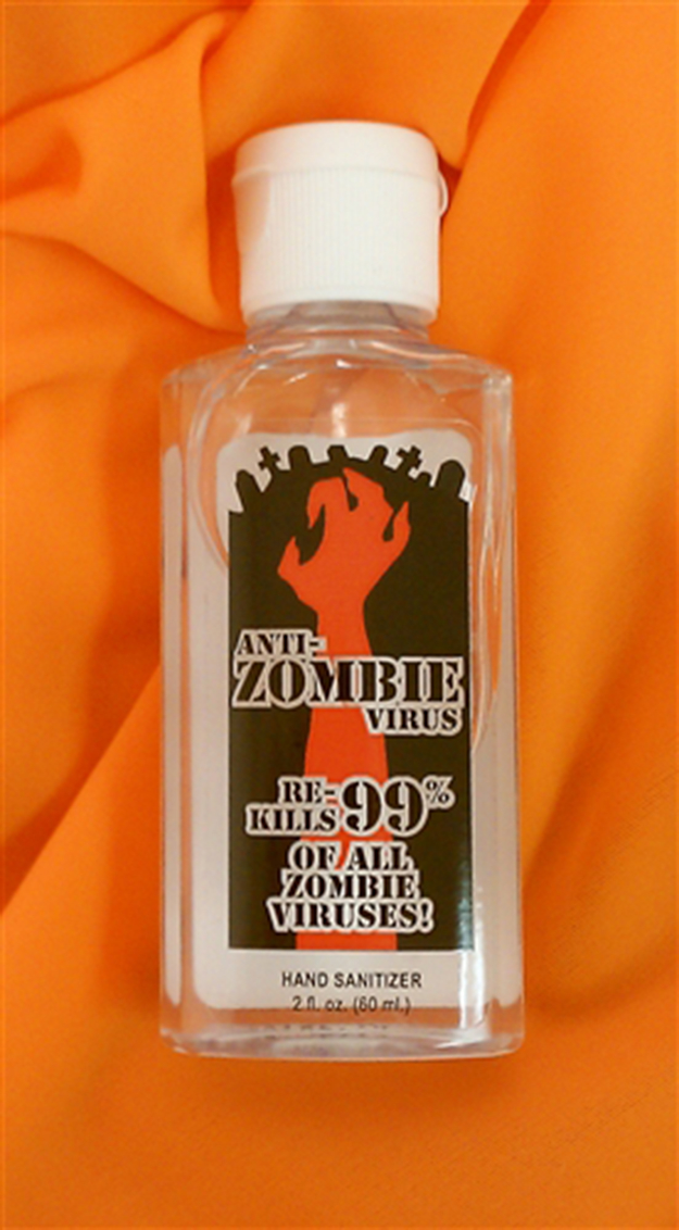 ANTI-ZOMBIE VIRUS HAND SANITIZER