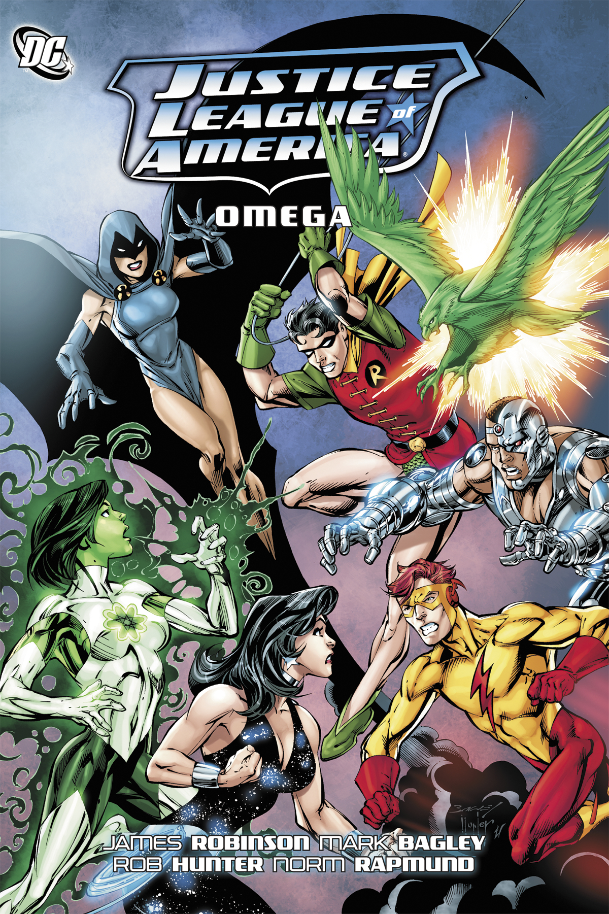 JUSTICE LEAGUE OF AMERICA OMEGA TP