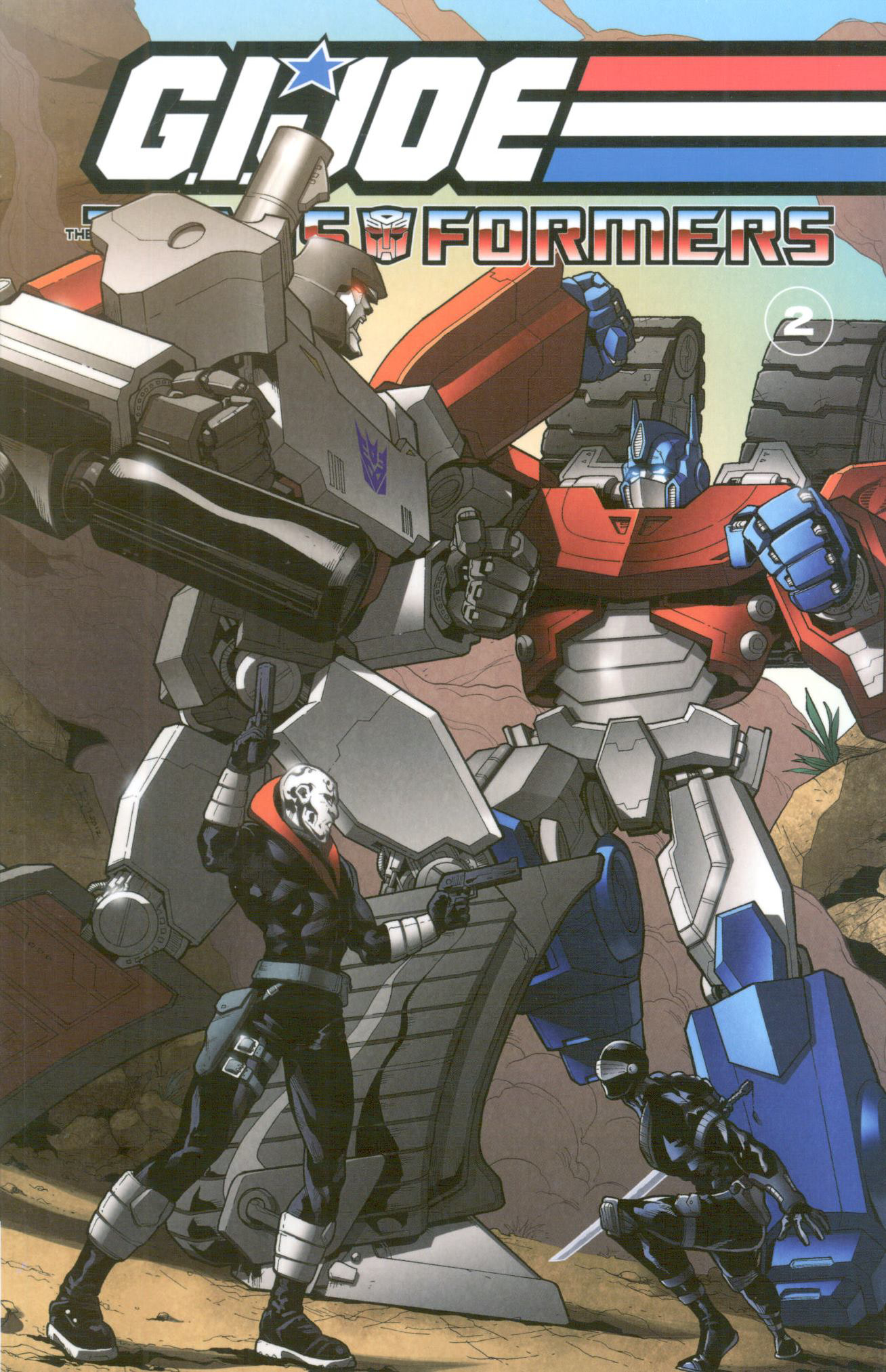 GI JOE / TRANSFORMERS TP VOL 02
