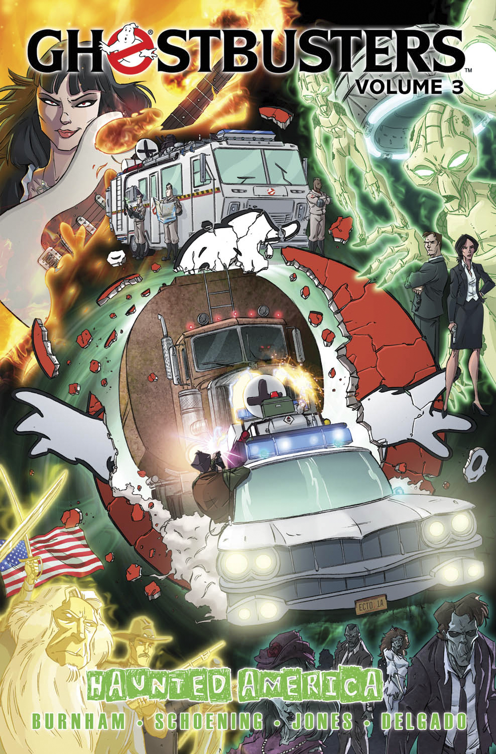 GHOSTBUSTERS ONGOING TP VOL 03 HAUNTED AMERICA