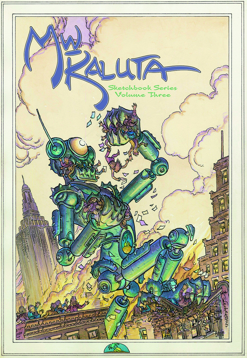 MICHAEL KALUTA SKETCHBOOK SERIES SC VOL 03