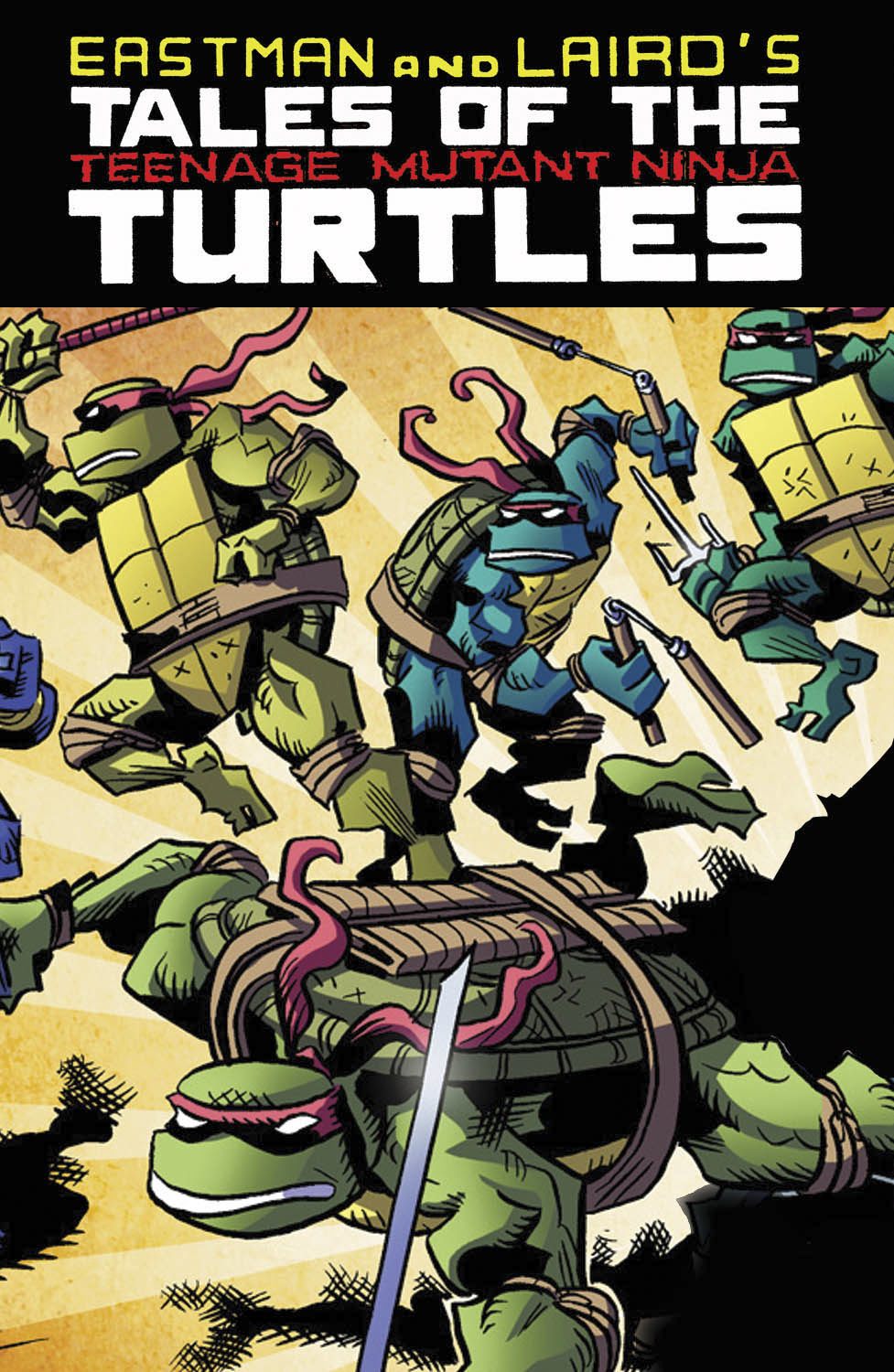 TALES OF TMNT TP VOL 01