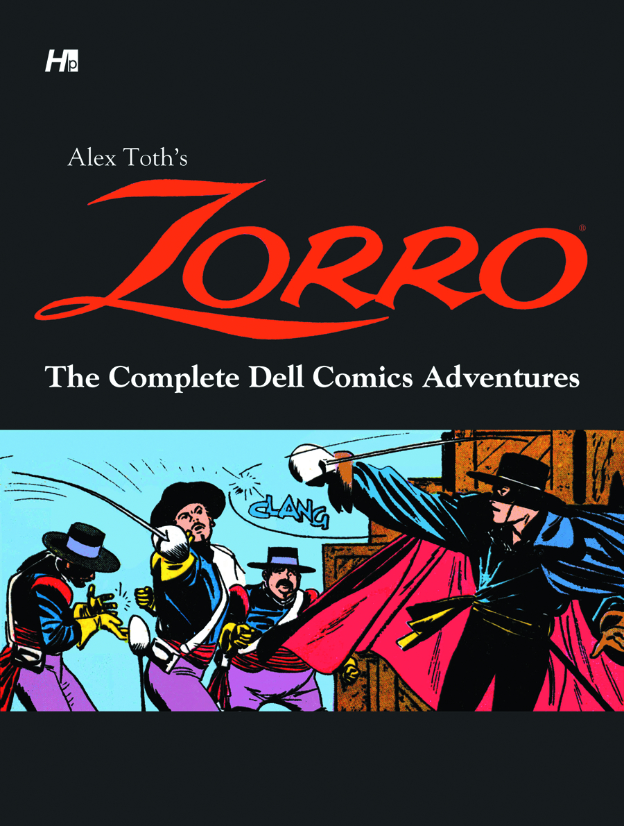 ALEX TOTH ZORRO COMP DELL COMICS ADVENTURES HC