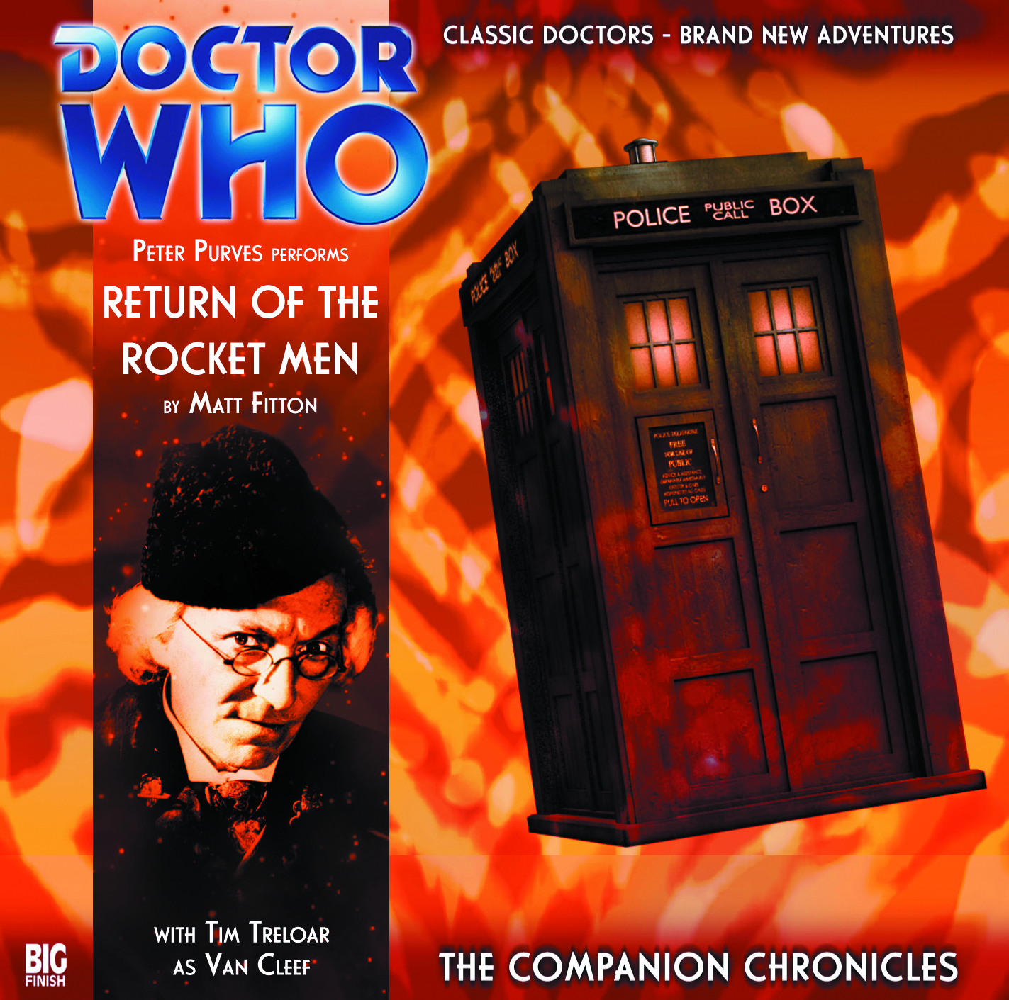 DOCTOR WHO COMPANION CHRON RETURN OF ROCKET MEN AUDIO CD