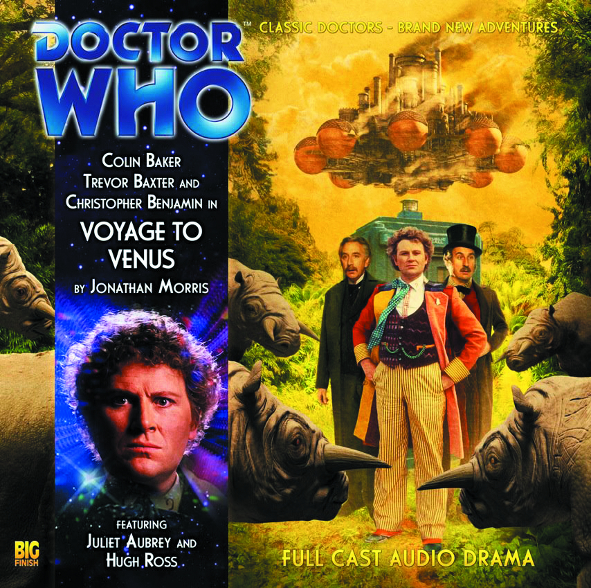 DOCTOR WHO VOYAGE TO VENUS AUDIO CD
