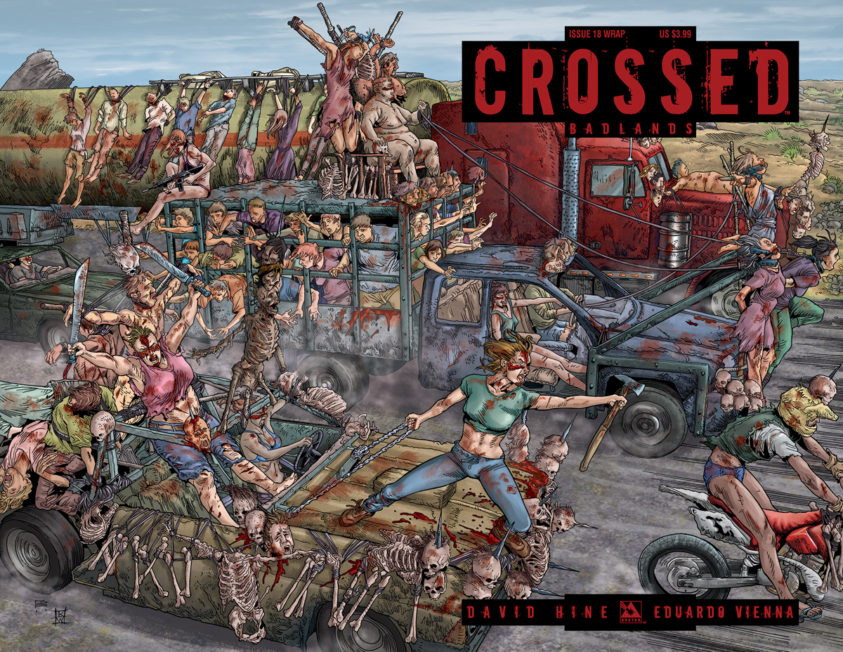 CROSSED BADLANDS #18 WRAP CVR