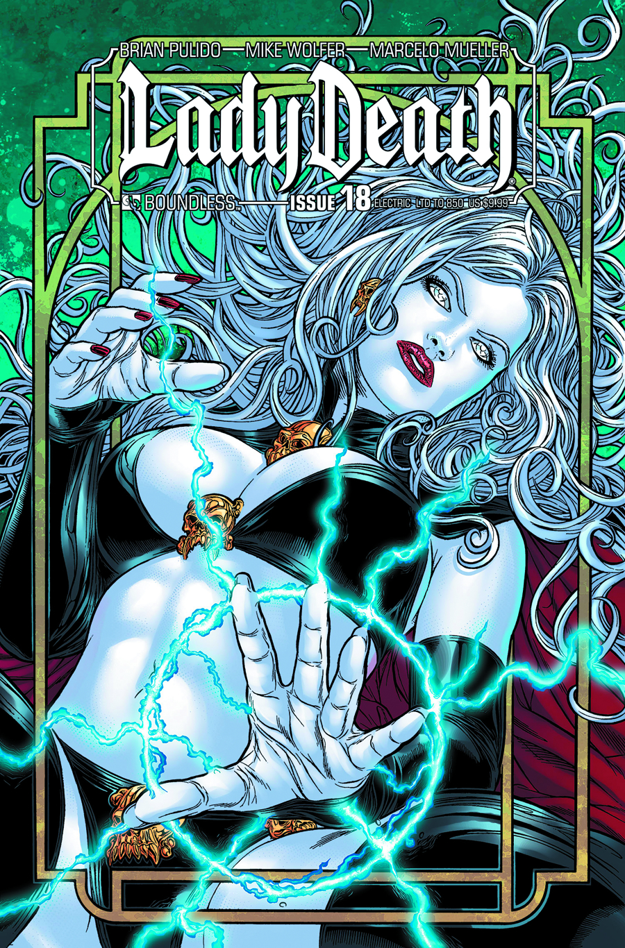 LADY DEATH (ONGOING) #18 ELECTRIC CVR