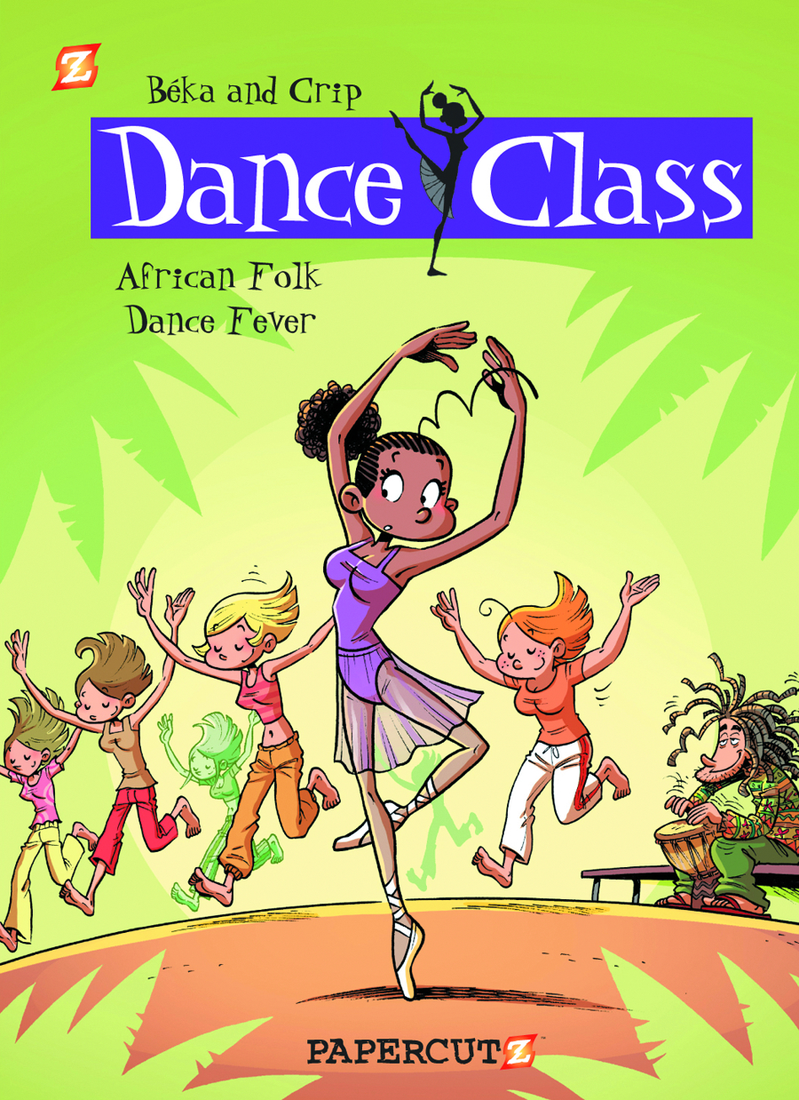 DANCE CLASS HC VOL 03 AFRICAN FOLK DANCE FEVER