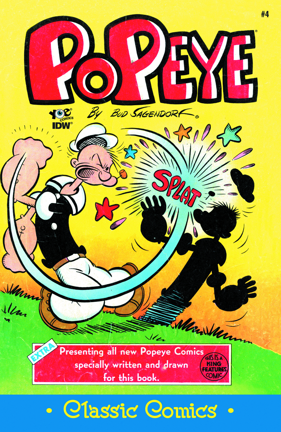 POPEYE CLASSICS ONGOING #4