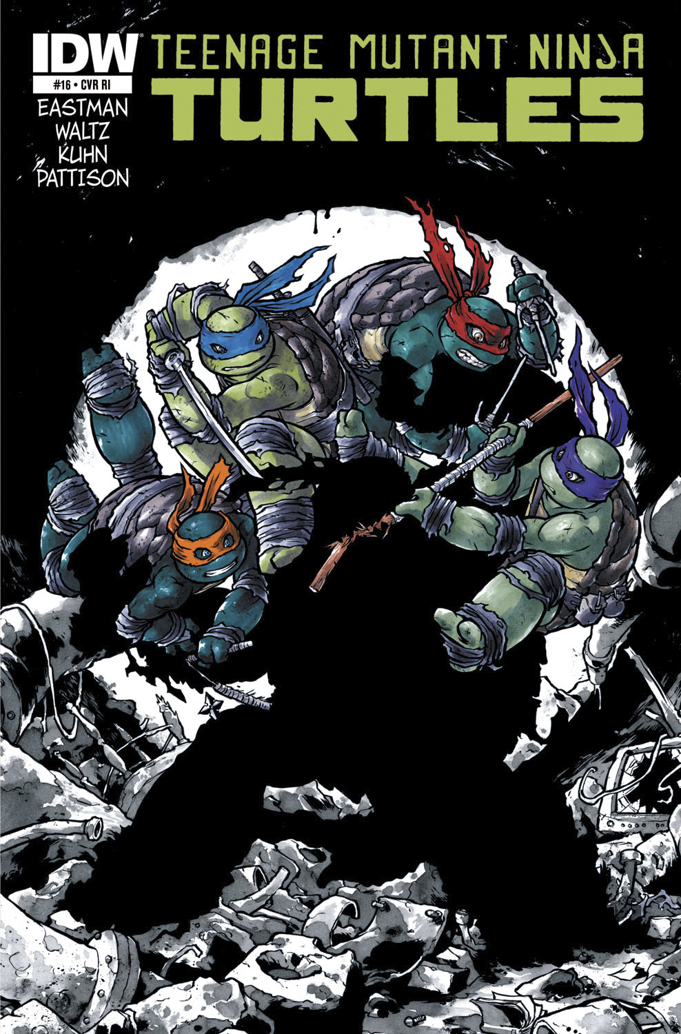 TMNT ONGOING #16