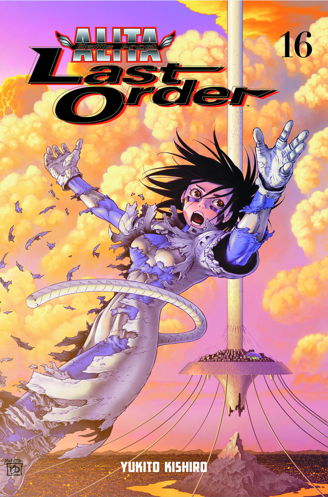 BATTLE ANGEL ALITA LAST ORDER TP VOL 16