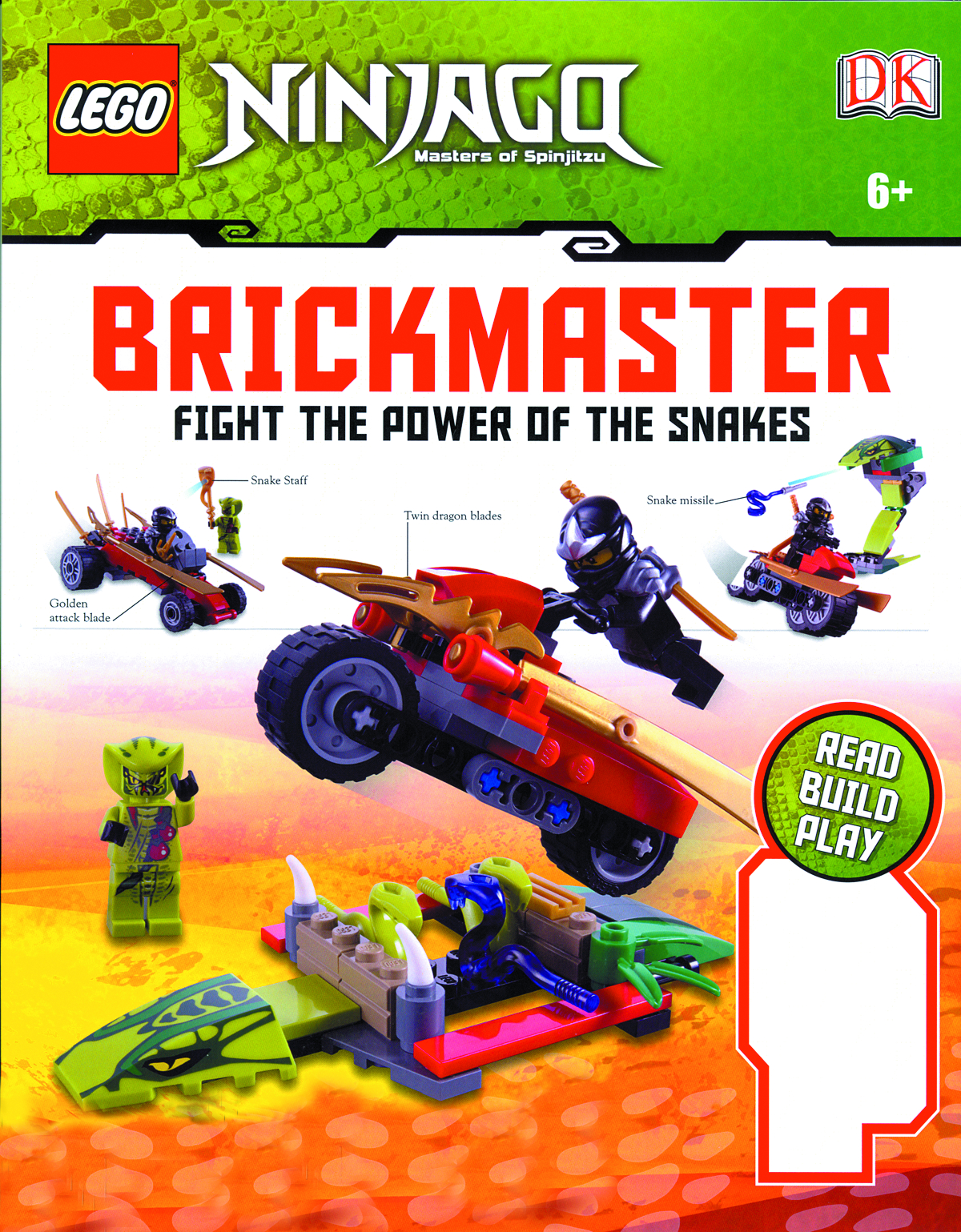 LEGO NINJAGO BRICKMASTER FIGHT POWER OF SNAKES HC