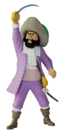 TINTIN PVC FIGURINE -KNIGHT OF HADOQUE 11CM
