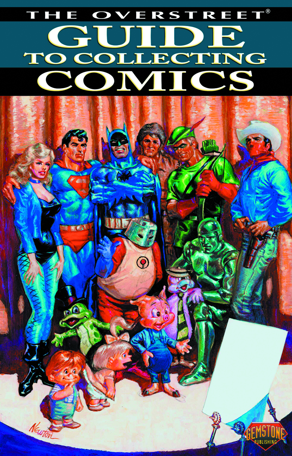 OVERSTREET GUIDE TO COLLECTING COMICS SC VOL 01 NEWTON DM CV