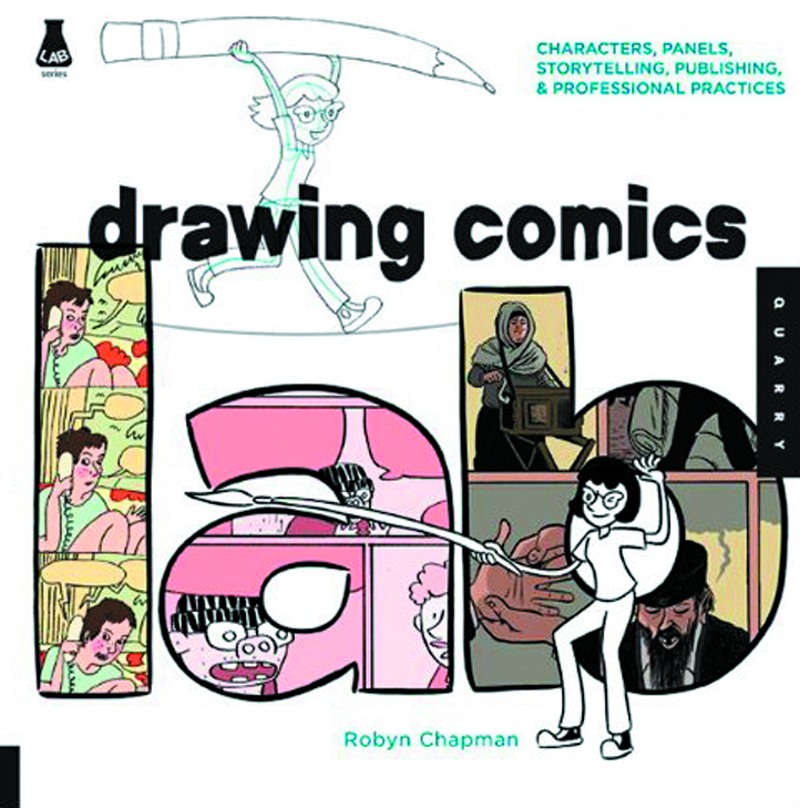 DRAWING COMICS LAB SC