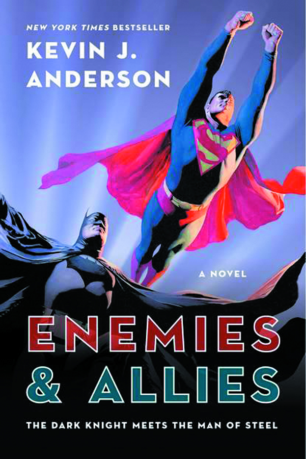 ENEMIES & ALLIES NOVEL OF WORLDS FINEST TEAM SC