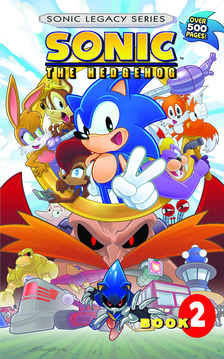 SONIC THE HEDGEHOG LEGACY TP VOL 02