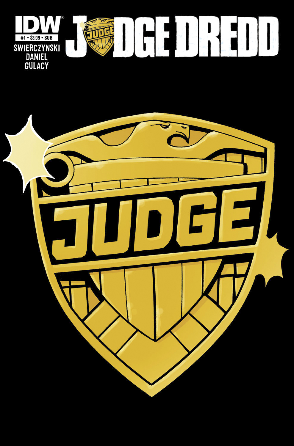 JUDGE DREDD #1 SUBSCRIPTION CVR