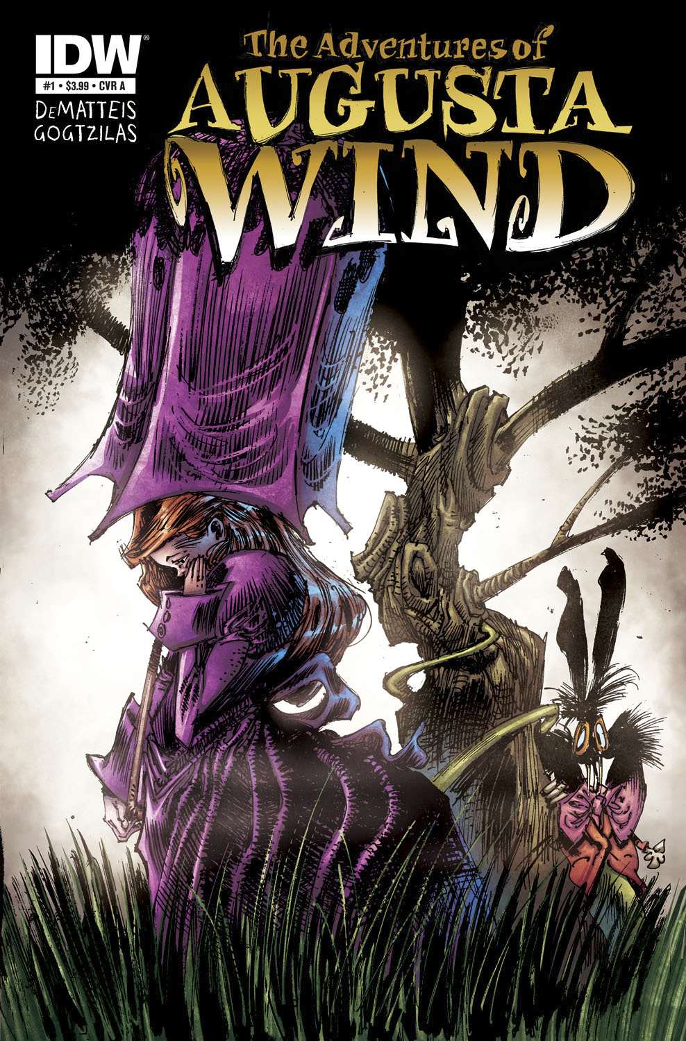 ADVENTURES OF AUGUSTA WIND #1