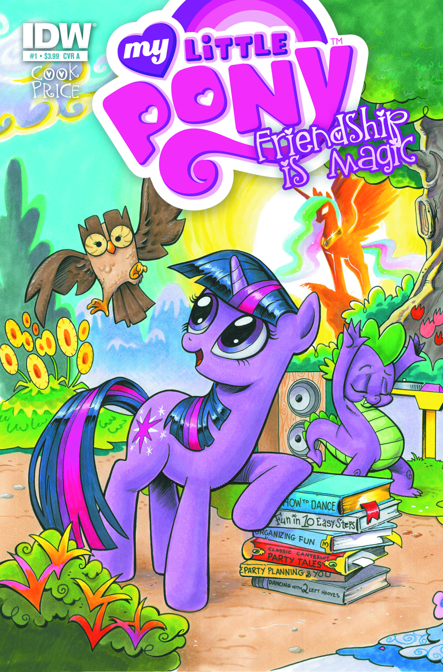 (USE OCT128391) MY LITTLE PONY FRIENDSHIP IS MAGIC #1