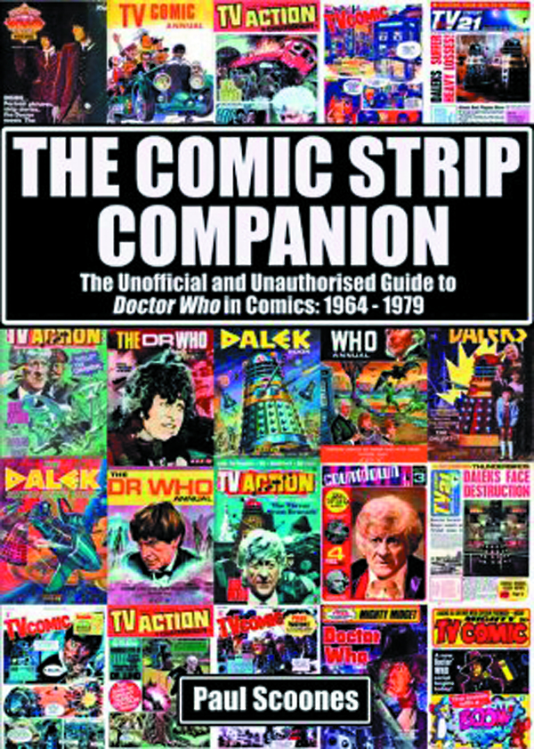 COMIC STRIP COMPANION UNOFF UNAUTH GT DR WHO IN COMICS 64-79