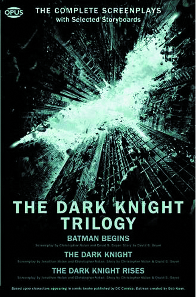 DARK KNIGHT TRILOGY COMP SCREENPLAYS W STORYBOARDS