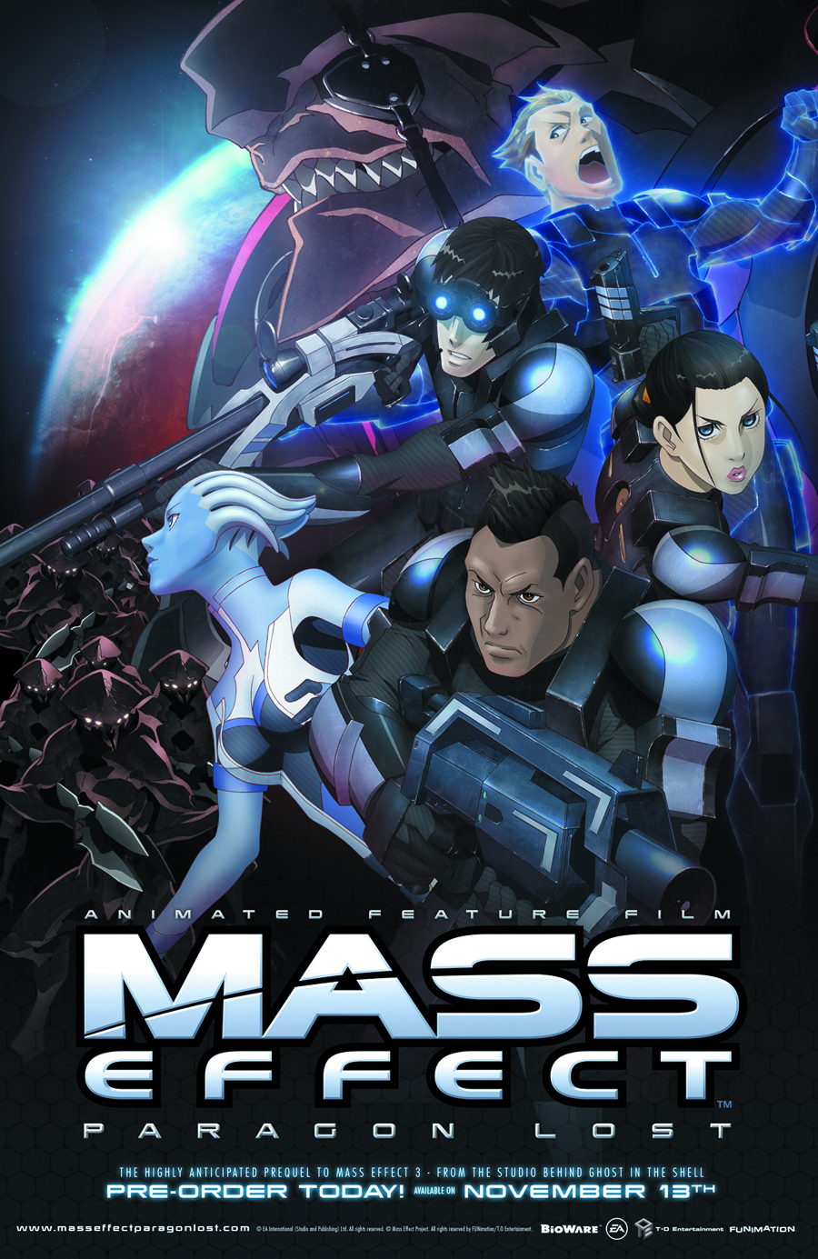 MASS EFFECT PARAGON LOST BD + DVD