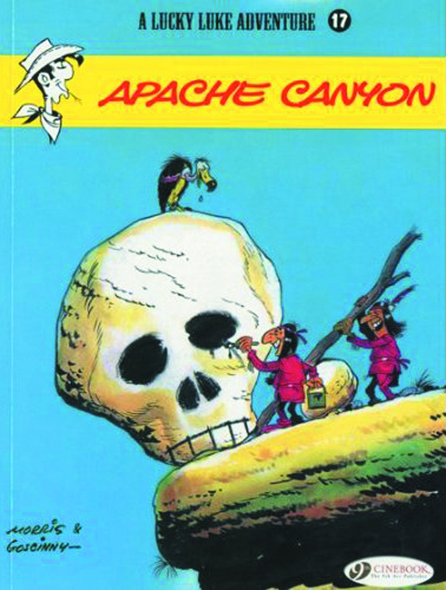 LUCKY LUKE TP VOL 17 APACHE CANYON