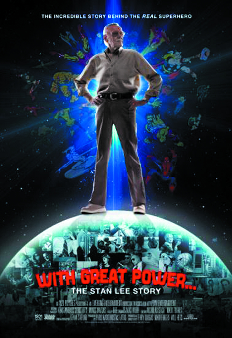 WITH GREAT POWER STAN LEE STORY DVD