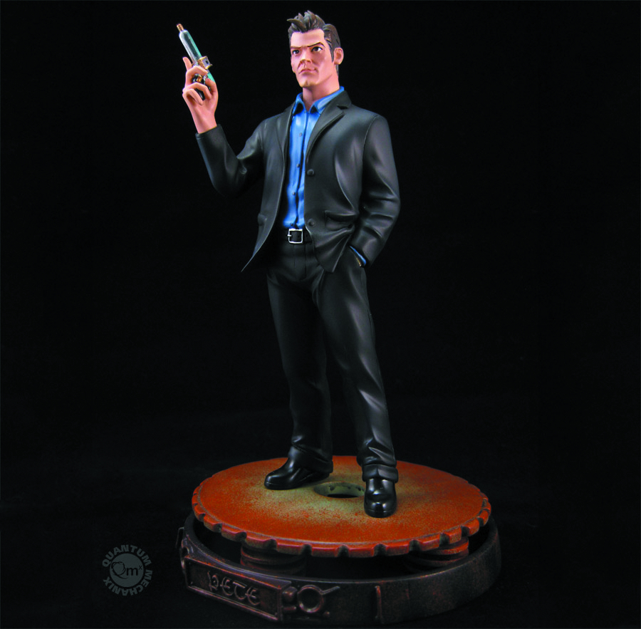 WAREHOUSE 13 PETE LATTIMER ANIMATED MAQUETTE