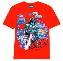 SW DARTH VADER DUST GRINDER PX RED T/S XL